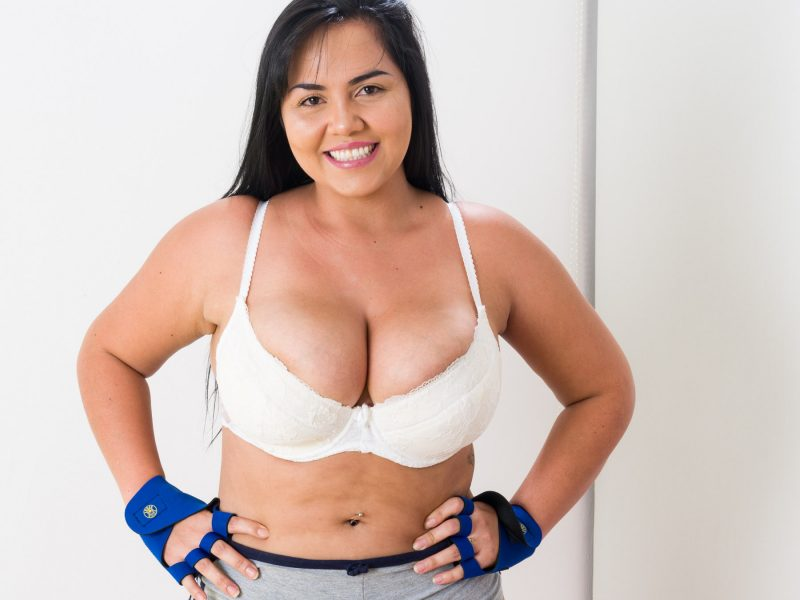 Busty Athletic Natural Boobs MILF - Destiny Starr